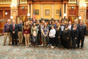Scholars at Legislature